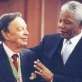 Anton Rupert and Nelson Mandela