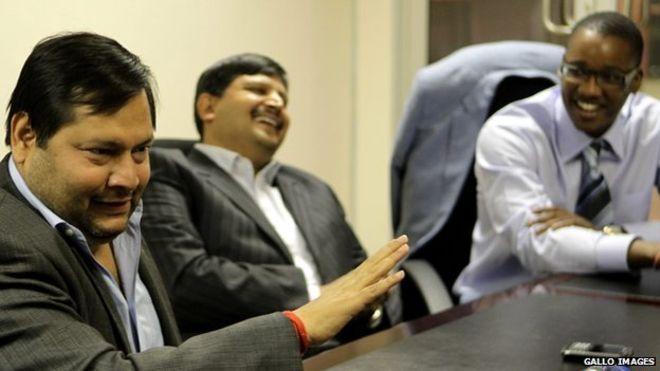 The Guptas have own a business with Jacob Zuma's son, Duduzane Zuma. Photo: Gallo Images.