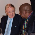 Julius Malema and Lord Robin Renwick