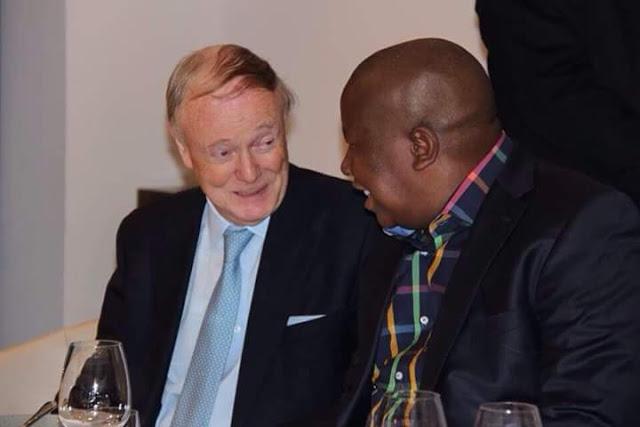 Julius Malema and Lord Robin Renwick