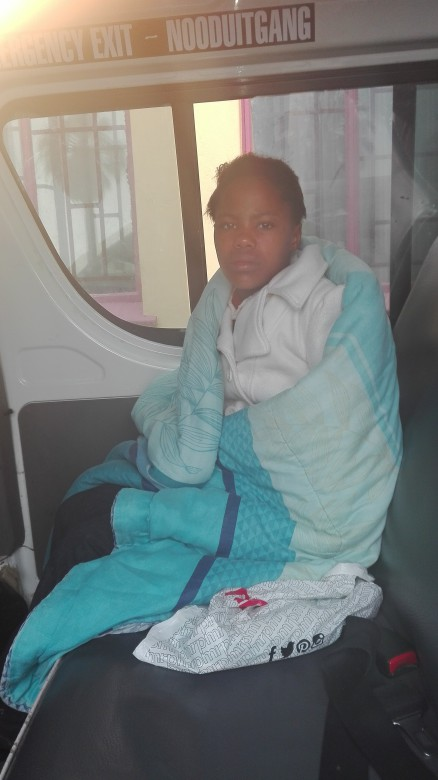 Andiswa Dumas aged 12 years old, denied access to education. Blekkiesdorp