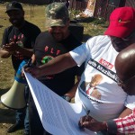The Orlando Task Team lays a complaint against EFF with IEC