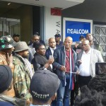 Black Solidarity Action picket at the Public Protector's office in Cape Town