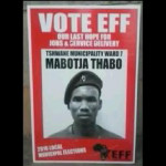Thabo Mabotja denounced by EFF because he threatens whiteness