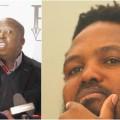 Julius Malema and Andile Mngxitama
