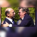 Johan Rupert losing it and sending Trevor Manuel to the front