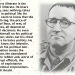 Politics determine everything