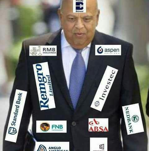 Conflict of interest: Pravin Gordhan declares his shares in major banks