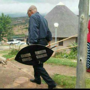 Jacob Zuma Pravin Gordhan London Road trip