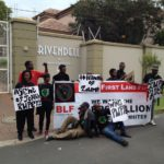 BLF takes #NationalShutdown to Pravin Gordhan's house