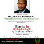 INVITATION: Debate with Professor Malikane on Radical Economic Transformation