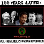 BLF marks Russian revolution centenary