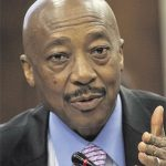 Why was Tom Moyane pushed?