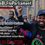 BLF raises R200k in two weeks for #TakeBLFToParliament campaign