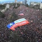 Chile: over 100,000  march against neoliberalism