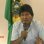 President Morales resigns amid right wing coup against the Bolivian government
