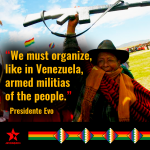 Evo Morales Suggests Forming Bolivian People's Militias