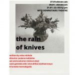 """the rain of knives"" – diarize this, it's a must see"