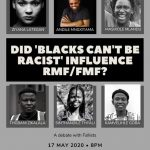 Blacks Can't Be Racist: Possible Influences on RMF/FMF